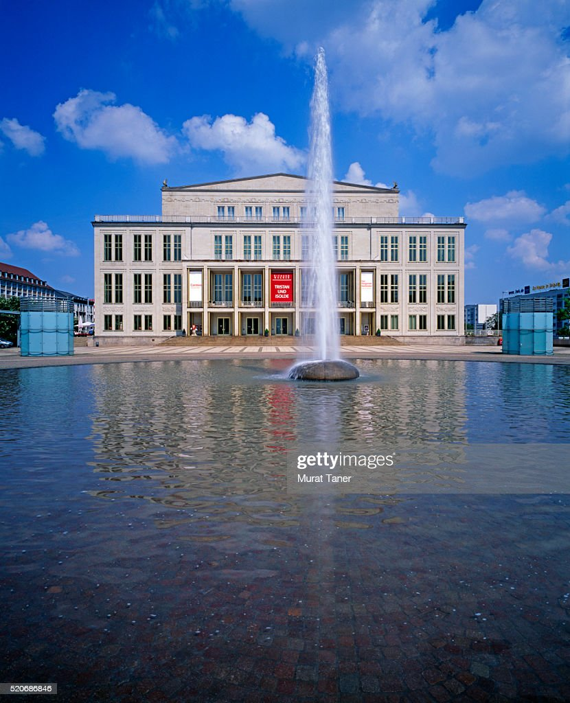 Leipzig Opera House High Res Stock Photo Getty Images