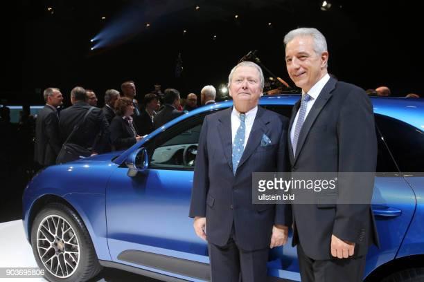 Leipzig, Sachsen, Eroeffnung des neuen Porsche Werks. Es ist der groesste Neubau, den Porsche je gebaut hat. Der Leipziger Standort wurde zum...