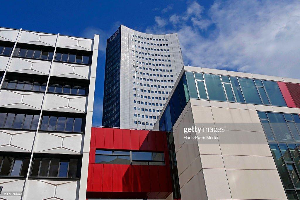 Leipzig, University, Saxony : Stock Photo