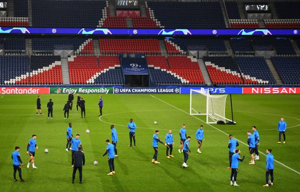 FRA: Paris Saint-Germain v RB Leipzig: Group H - UEFA Champions League