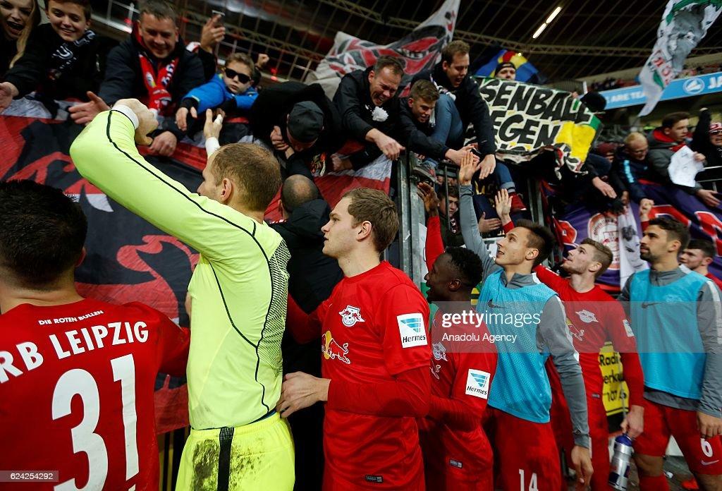 Bayer Leverkusen vs RB Leipzig - Bundesliga : News Photo