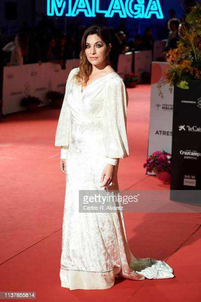 Leire Martinez attends 'Retrospectiva' award during the 22th Malaga Film Festival on March 22 2019 in Malaga Spain