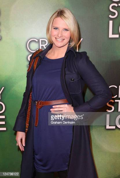 Leisel Jones arrives at the premiere of 'Crazy, Stupid, Love' at Rivoli Cinemas on September 12, 2011 in Melbourne, Australia.