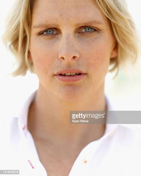 Leisel Jones of Australia poses at Bondi Beach on March 27, 2012 in Sydney, Australia. After earning selection to compete at the 2012 London...