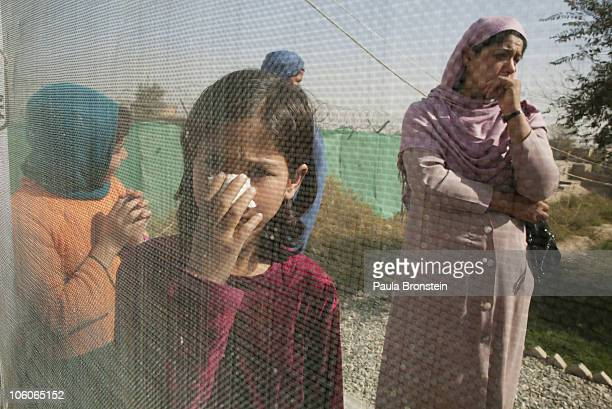 Leishmaniasis patients wait outside the clinic to be treated at a free specialized clinic for Leishmaniasis supported by World Health Organization...