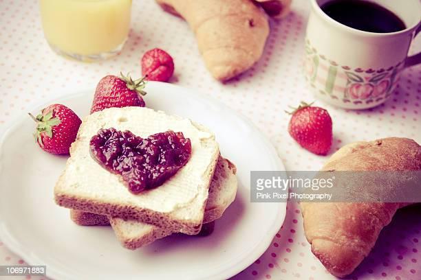 Leisurely breakfast