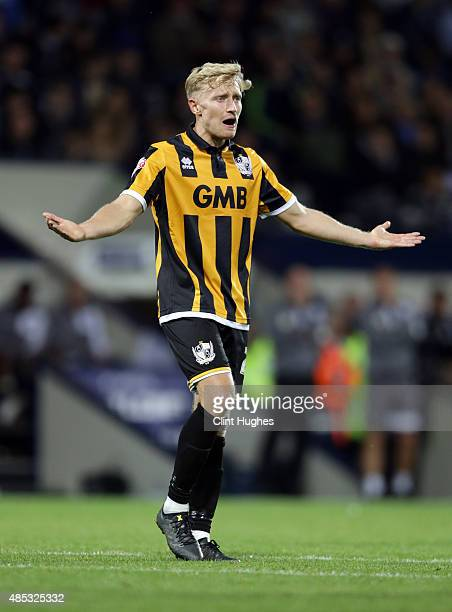 LeitchSmith of Port Vale during the Capital One Cup Second Round match between West Bromwich Albion and Port Vale at The Hawthorns on August 25 2015...
