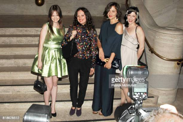Leith Clark Yelena Yemchuk Maggie Gyllenhaal and Sarah Sophie Flicker attend NEW YORK CITY BALLET'S Dance with the Dancers Benefit at David H Koch...