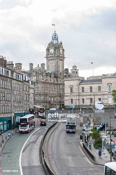 leith street - balmoral hotel stock pictures, royalty-free photos & images