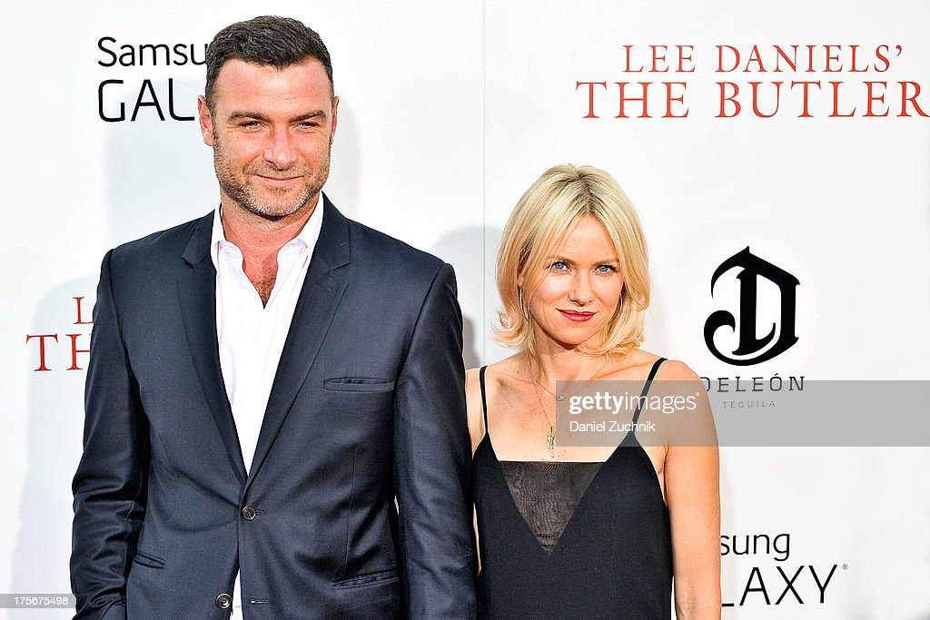 Leiv Schreiber and Naomi Watts attend 'The Butler' New York Premiere at Ziegfeld Theater on August 5, 2013 in New York City.