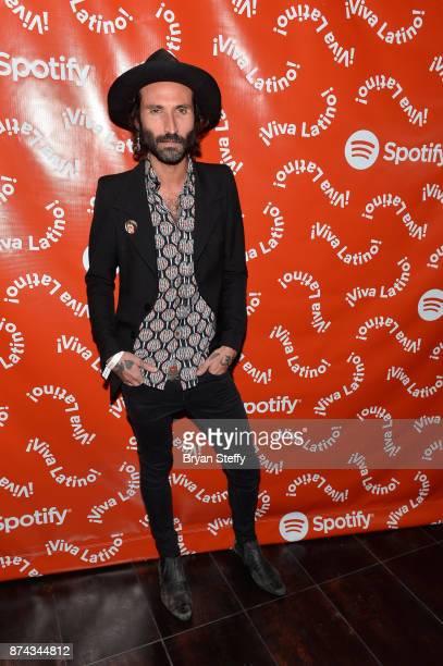 Leiva at Spotify Celebrates Latin Music and Their Viva Latino Playlist at Marquee Nightclub on November 14 2017 in Las Vegas Nevada