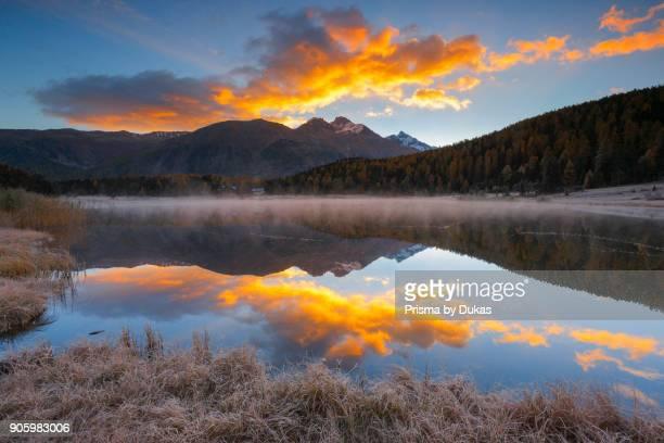 Lej da Staz Upper Engadine Grisons Switzerland
