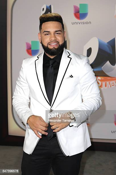 Lejuan James attends the Univision's 13th Edition Of Premios Juventud Youth Awards at Bank United Center on July 14 2016 in Miami Florida