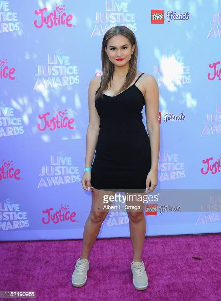 Lela B attends the 2019 Live Justice Awards held at Skirball Cultural Center on June 27 2019 in Los Angeles California