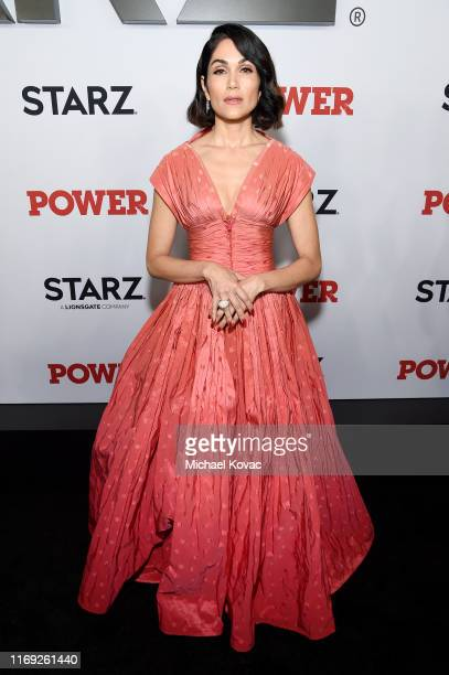 Lela Loren at STARZ Madison Square Garden Power Season 6 Red Carpet Premiere Concert and Party on August 20 2019 in New York City