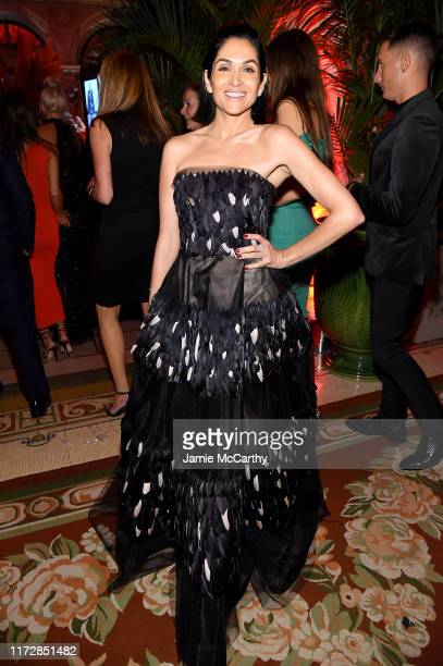 Lela Loren attends as Harper's BAZAAR celebrates ICONS By Carine Roitfeld at The Plaza Hotel presented by Cartier Inside on September 06 2019 in New...