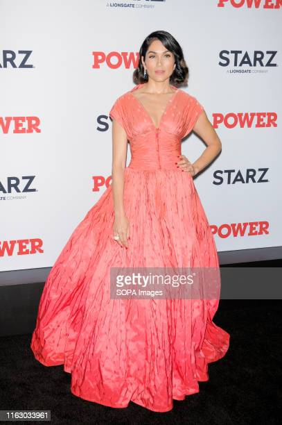 Lela Loren attends the Power Final Season Premiere held at Madison Square Garden in New York City.