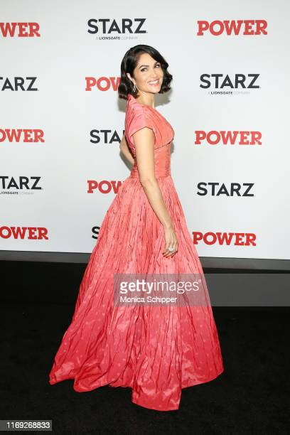 Lela Loren attends the Power final season world premiere at The Hulu Theater at Madison Square Garden on August 20 2019 in New York City