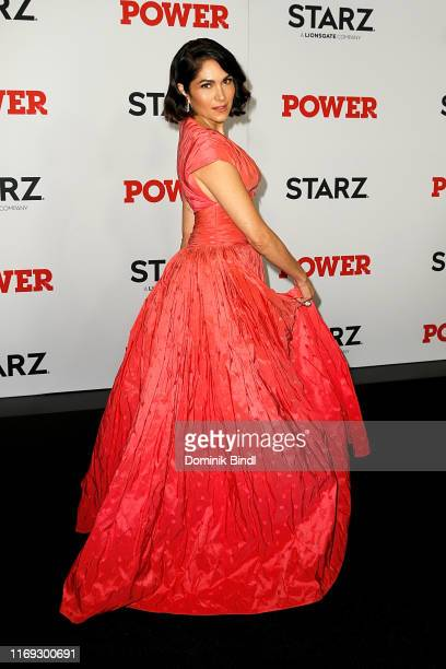 "Lela Loren attends the ""Power"" final season world premiere at The Hulu Theater at Madison Square Garden on August 20, 2019 in New York City."