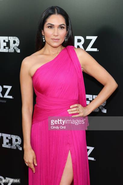 Lela Loren attends the Starz Power The Fifth Season NYC Red Carpet Premiere Event After Party on June 28 2018 in New York City