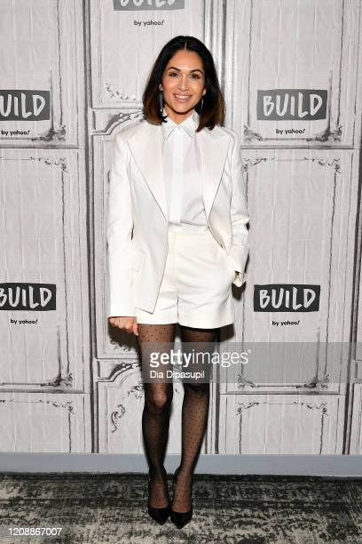 Lela Loren visits the Build Series to discuss Altered Carbon at Build Studio on February 26 2020 in New York City