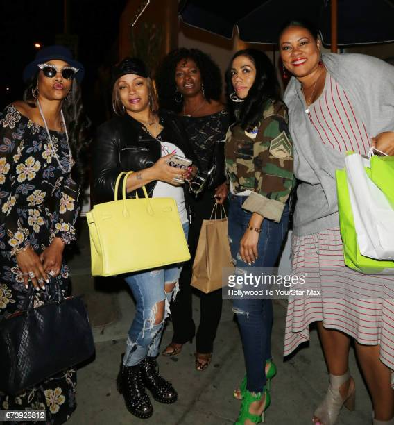 Lela Rochon Vanessa Bell Colloway and Vivica A Fox are seen on April 26 2017 in Los Angeles California
