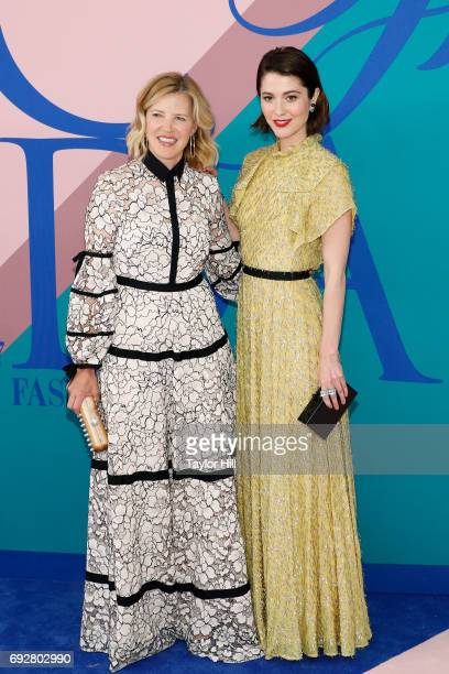 Lela Rose and Mary Elizabeth Winstead attend the 2017 CFDA Fashion Awards at Hammerstein Ballroom on June 5 2017 in New York City