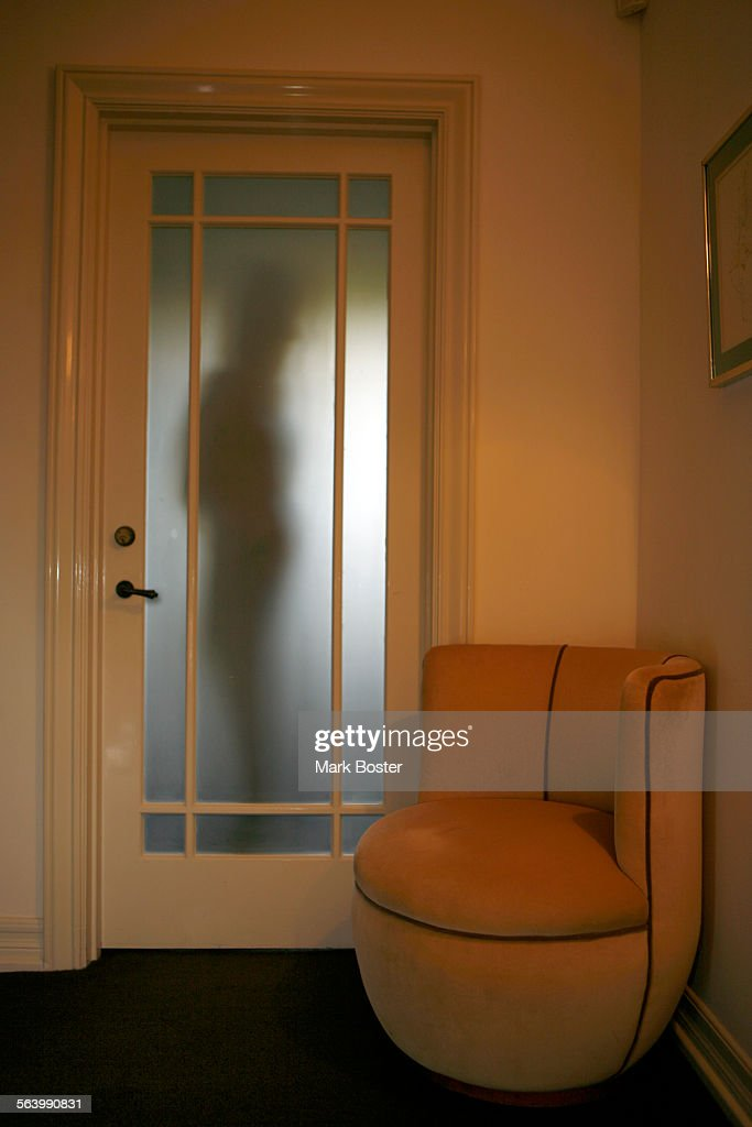 (Santa Monica)u2013Lela Tillem Is Silhoutted Behind The Closet Door In The  Master