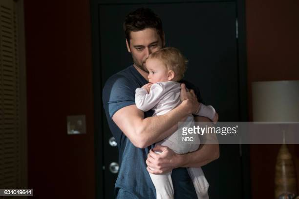 REDEMPTION Leland Bray Episode 101 Pictured Ryan Eggold as Tom Keen baby Agnes