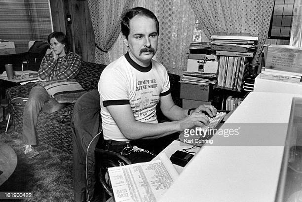 OCT 26 1986 Leland Kesler is currently working on a second edition of the Denver Metro Scanner Guide' a compilation of radio frequencies His Fiance...