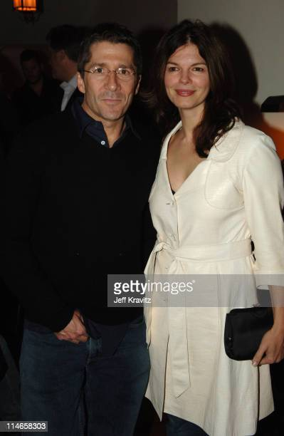 Leland Orser and Jeanne Tripplehorn during HBO's Annual Pre-Golden Globes Private Reception at Chateau Marmont in Los Angeles, California, United...