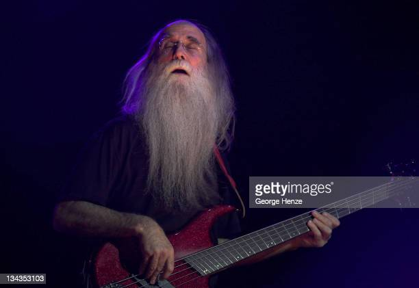 Leland Sklar of Toto during Toto in Concert at the Heineken Music Hall in Amsterdam March 19 2007 at Heineken Music Hall in Amsterdam Netherlands