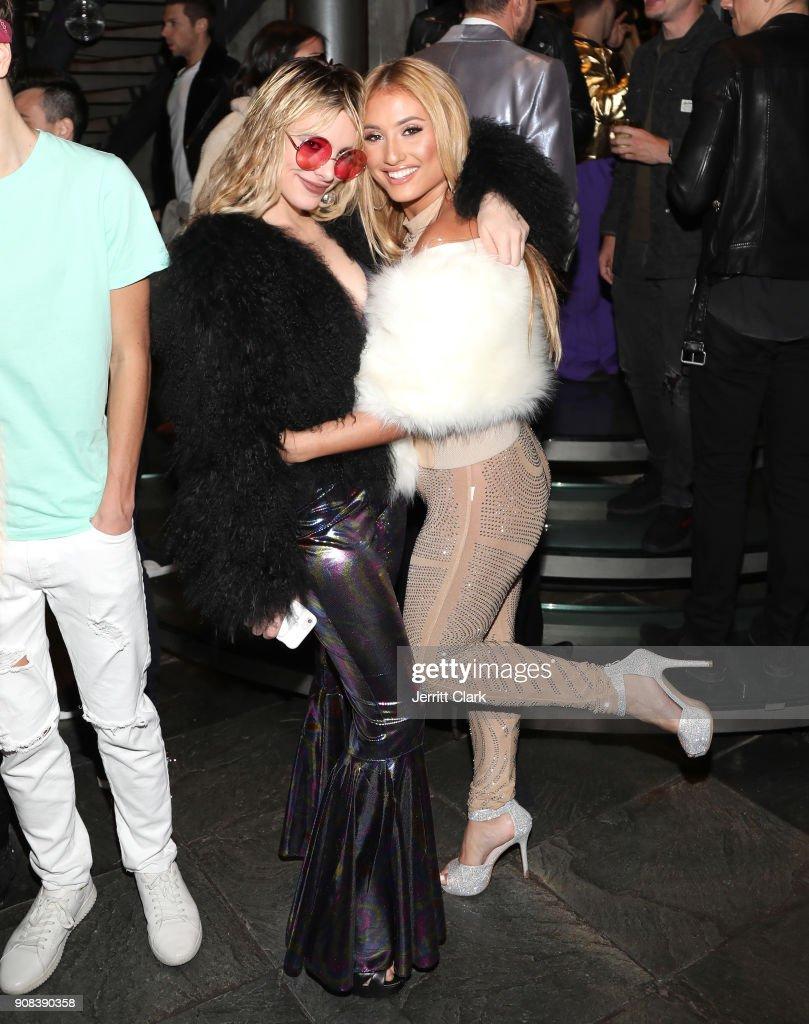 Lele Pons and Montana Tucker attend Montana Tucker's Disco