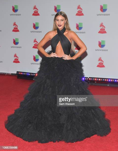 Lele Pons attends the 19th annual Latin GRAMMY Awards at MGM Grand Garden Arena on November 15 2018 in Las Vegas Nevada