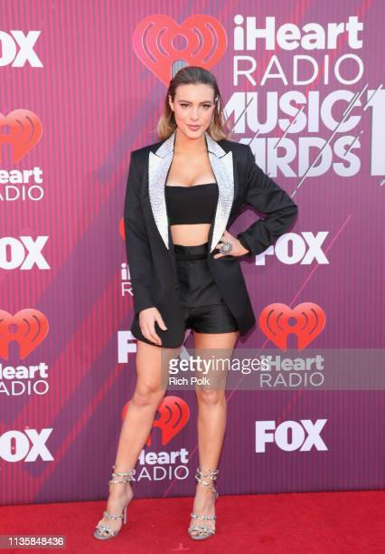 Lele Pons attends the 2019 iHeartRadio Music Awards which broadcasted live on FOX at Microsoft Theater on March 14 2019 in Los Angeles California