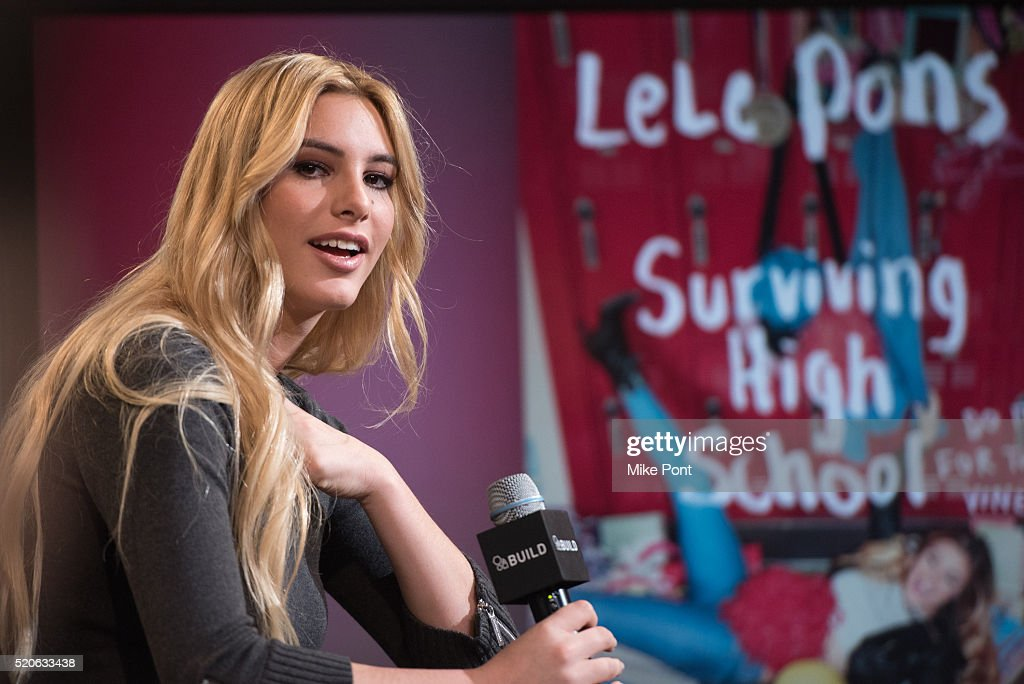 Lele Pons Attends The Aol Build Speaker Series To Discuss Her Book