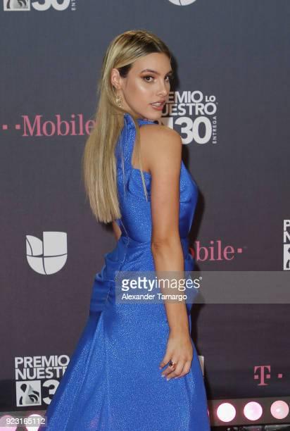 Lele Pons attends Univision's 30th Edition Of 'Premio Lo Nuestro A La Musica Latina' at American Airlines Arena on February 22 2018 in Miami Florida