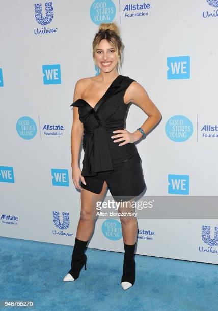 Lele Pons attends WE Day California at The Forum on April 19 2018 in Inglewood California