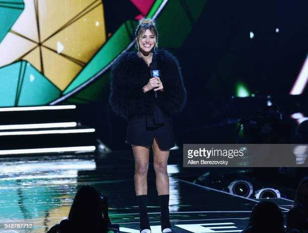 Lele Pons onstage at WE Day California at The Forum on April 19 2018 in Inglewood California