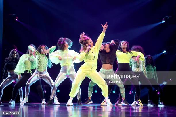 Lele Pons performs onstage at YouTube Brandcast 2019 at Radio City Music Hall on May 02 2019 in New York City