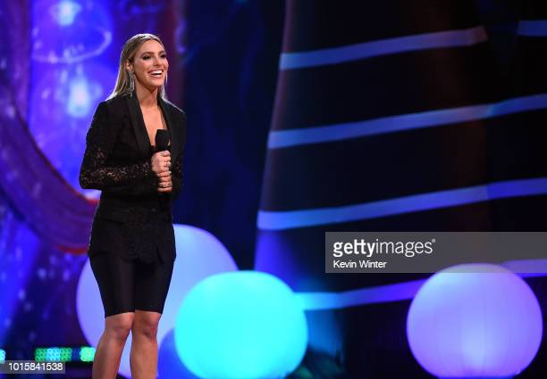 Lele Pons speaks onstage during FOX's Teen Choice Awards at The Forum on August 12 2018 in Inglewood California