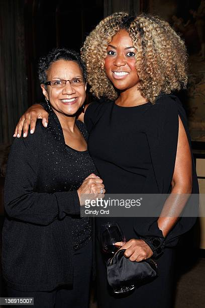 Lelia Bundles and Titi Branch attend the Target salute to Miko Branch and Titi Branch to celebrate being named two of Ebony Magazine's Power 100 at...