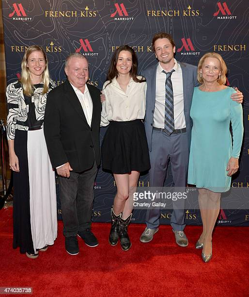 Lelia Parma actors Jack McGee Carly Ritter Tyler Ritter and Nancy Morgan attend The Marriott Content Studio's French Kiss film premiere at the Marina...