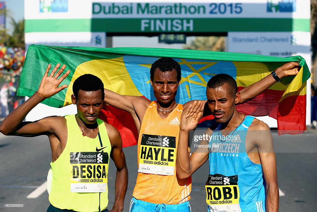 Standard Chartered Dubai Marathon : News Photo