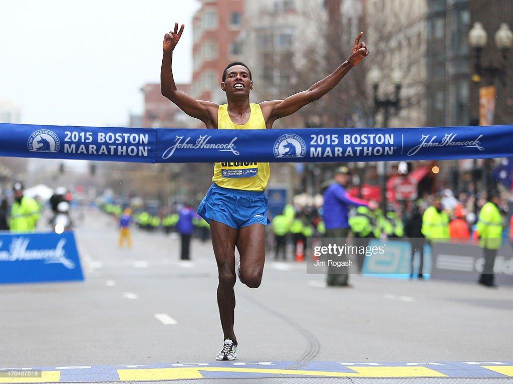 119th Boston Marathon : News Photo