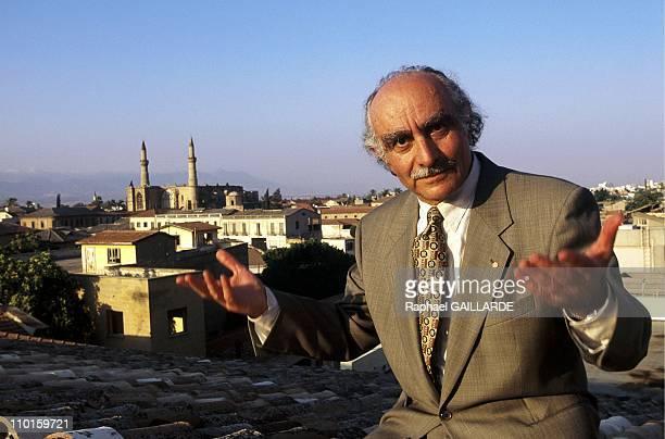 Lellos Demitriades, mayor of Nicosia in Nicosia, Cyprus in June, 1995.