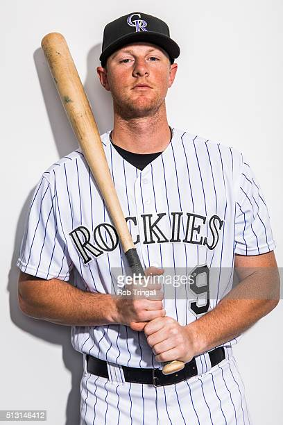 LeMahieu of the Colorado Rockies poses for a portrait at the Salt River Fields at Talking Stick on February 29 2016 in Sottsdale Arizona