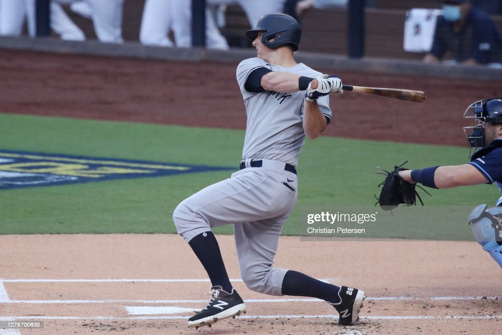 Division Series - New York Yankees v Tampa Bay Rays - Game One : News Photo