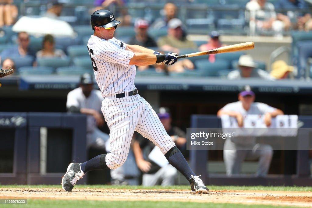 Colorado Rockies v New York Yankees : News Photo