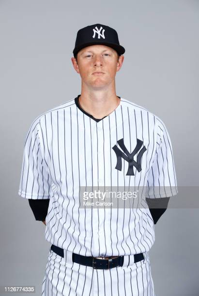 LeMahieu of the New York Yankees poses during Photo Day on Thursday February 21 2019 at George M Steinbrenner Field in Tampa Florida